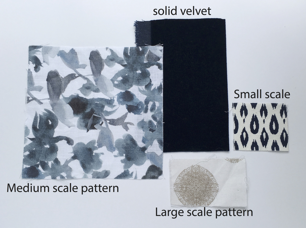 Creating a fabric color scheme - pattern