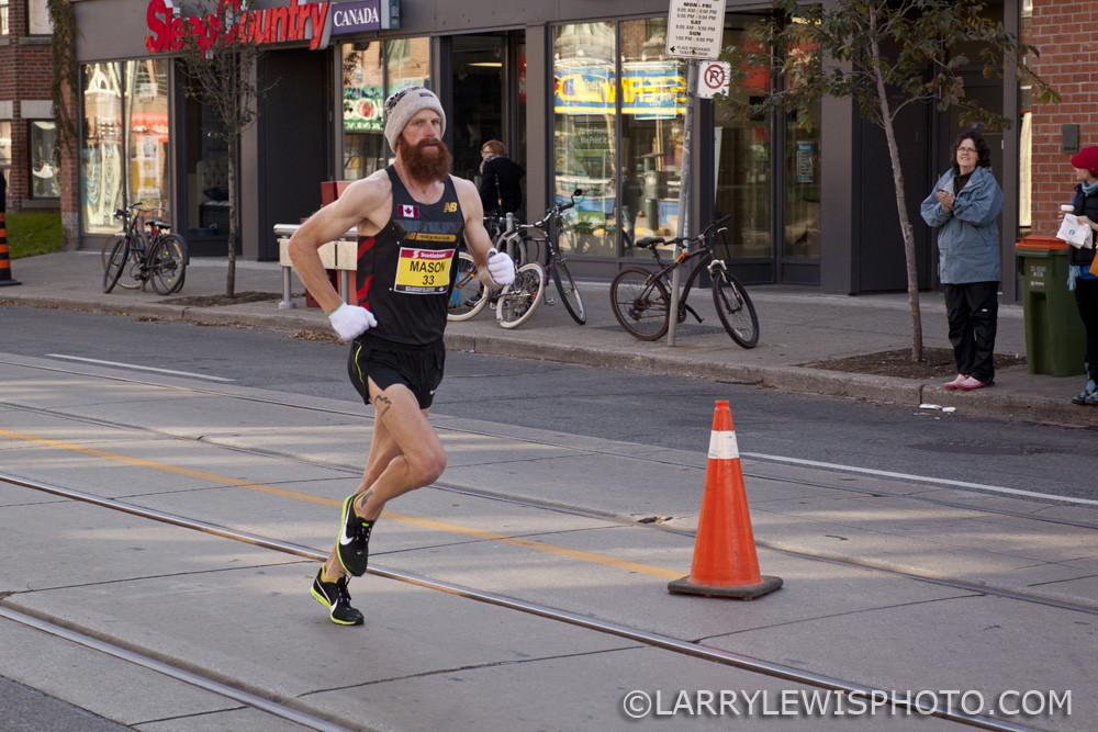 Third fastest Canadian Man, John Mason