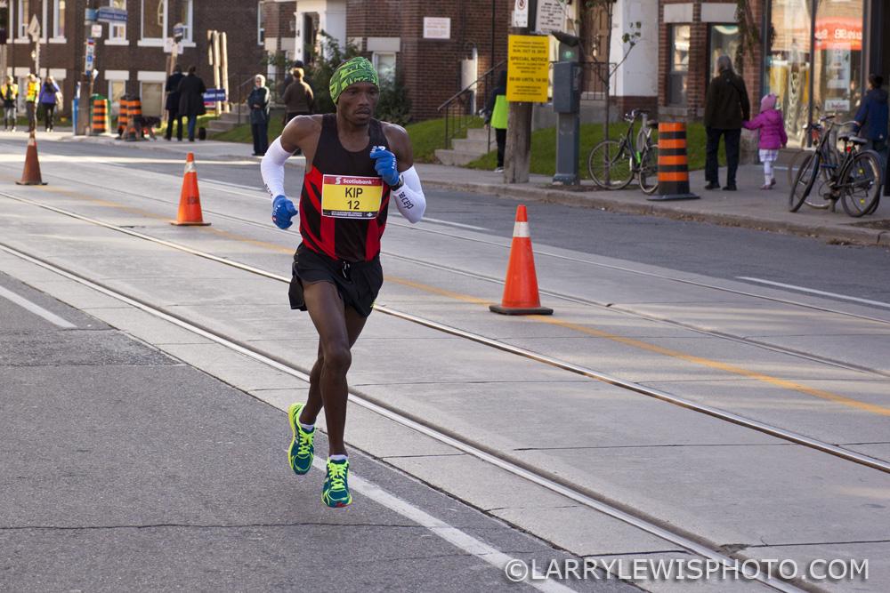 Second fastest Canadian Man, Kip  Kangogo