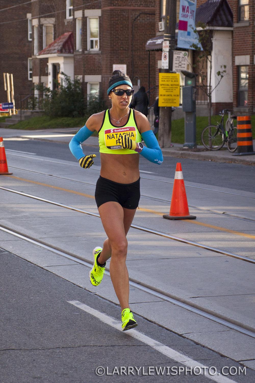 Third fastest Canadian Woman, Natasha Labeaud