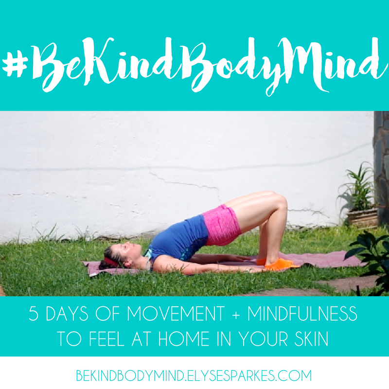 Get fit - in both body AND mind - Join Elyse and I for this free five day course with workouts you can do at home in under 10min. No fancy equipment required! Feel at home in your skin without going to extremes. Starts May 22nd!