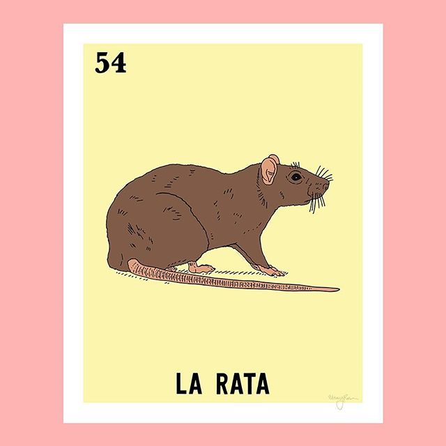 If you haven't seen rats in these streets, you are not living that Chicago life. Good news is it's the 27th illustration which means I'm officially half way through the set and that much closer to completing the game. I'm determined to finish before the end of the year. Wish me luck 🍀 - #chicagoteria #larata #rata #latinxscreate #latinxart