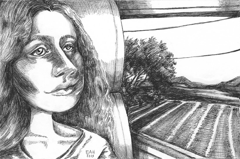 8. Sad Eyed Train Girl (Revised) (signed) (B&W).jpeg