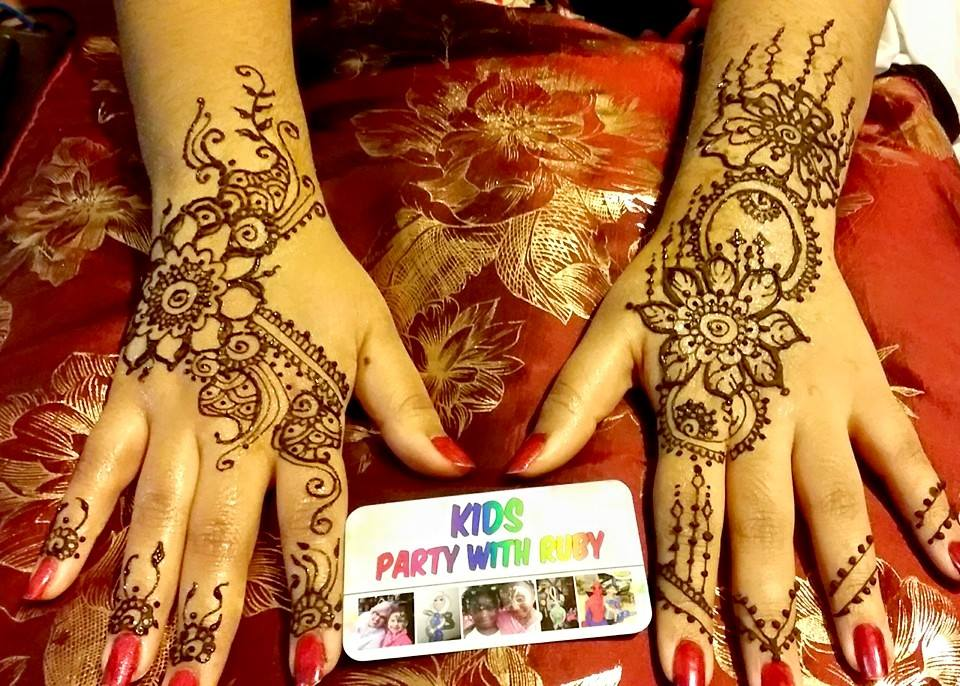 Henna Party Nyc : Kids party with ruby entertainment nyc face painter