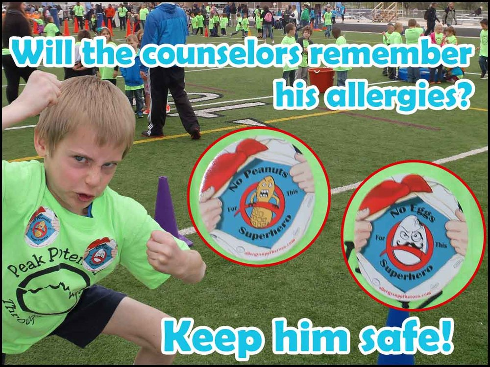 Allergy Superheroes Allergy Awareness Products Summer Camps
