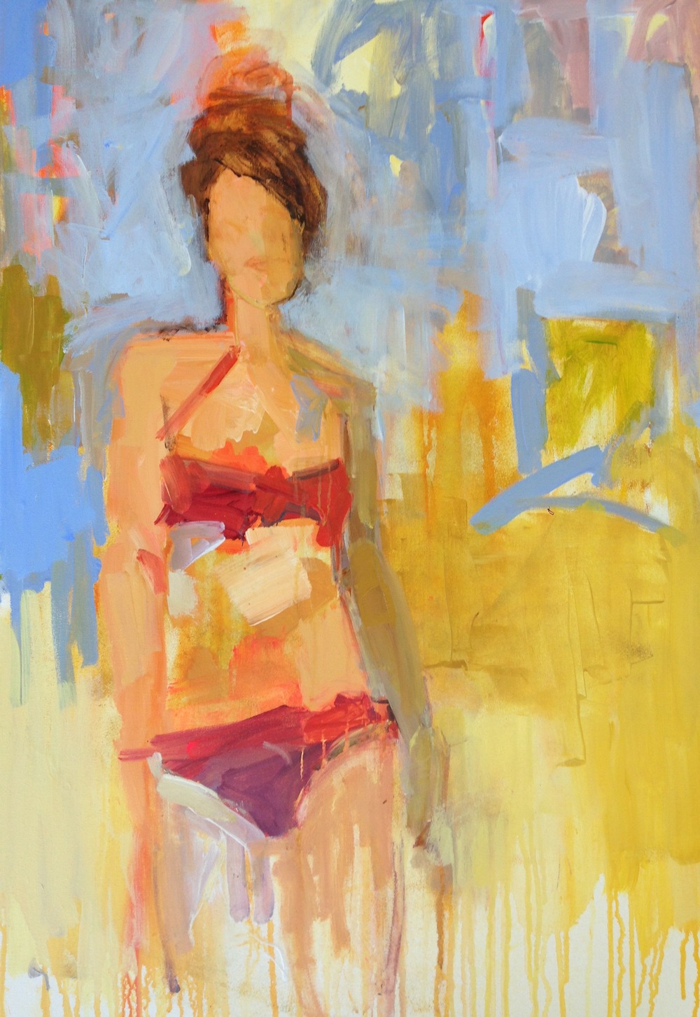 Beach Babe  24x36   SOLD