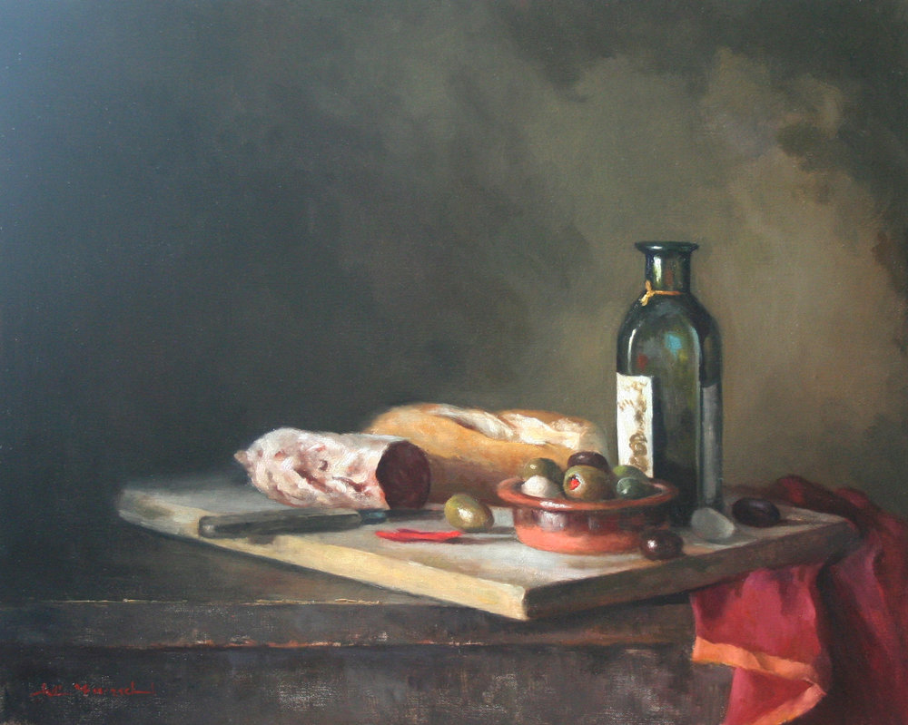 Antipasto  16x20  oil on linen