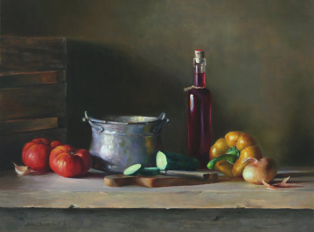 Gazpacho  18x24  oil on linen