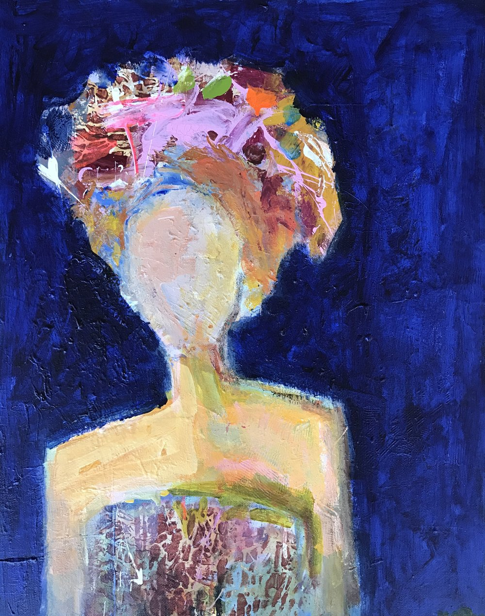 Small Beauty 20x16  acrylic on canvas