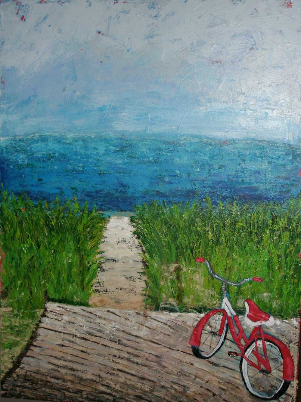 First Day of Summer - 30x40 acrylic on canvas - available