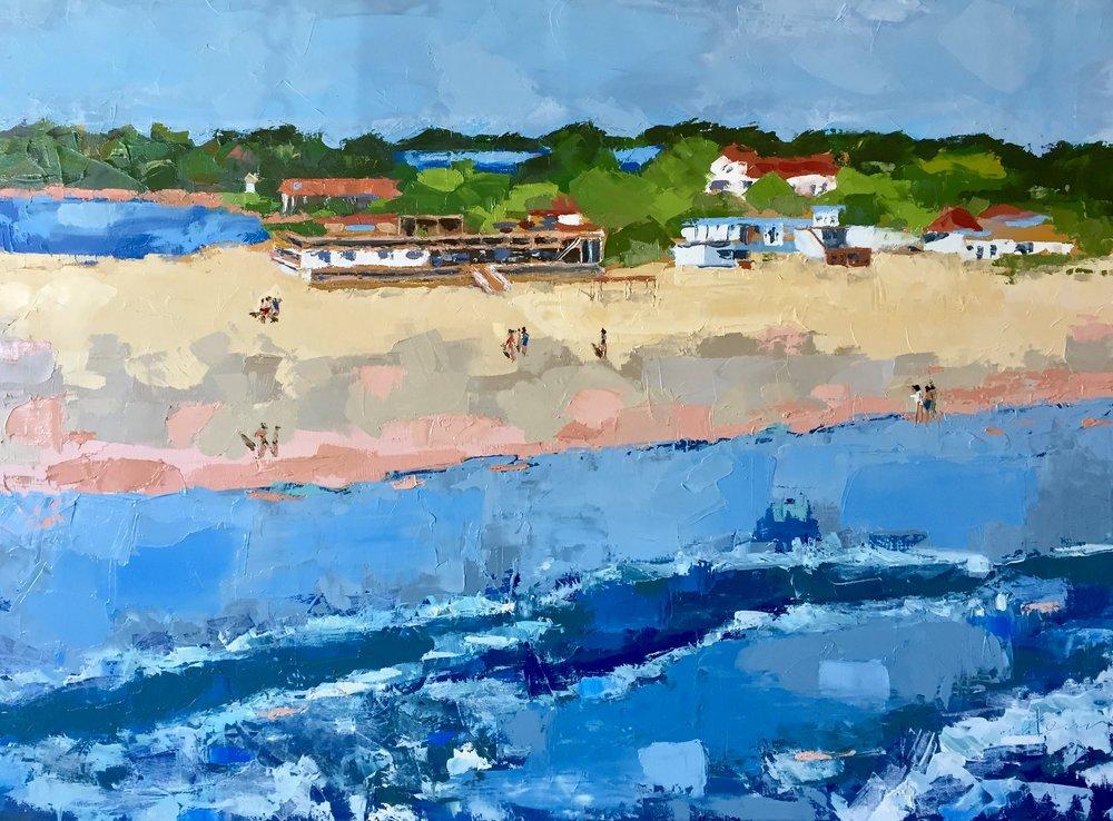 Pavillion  36x48 oil on canvas