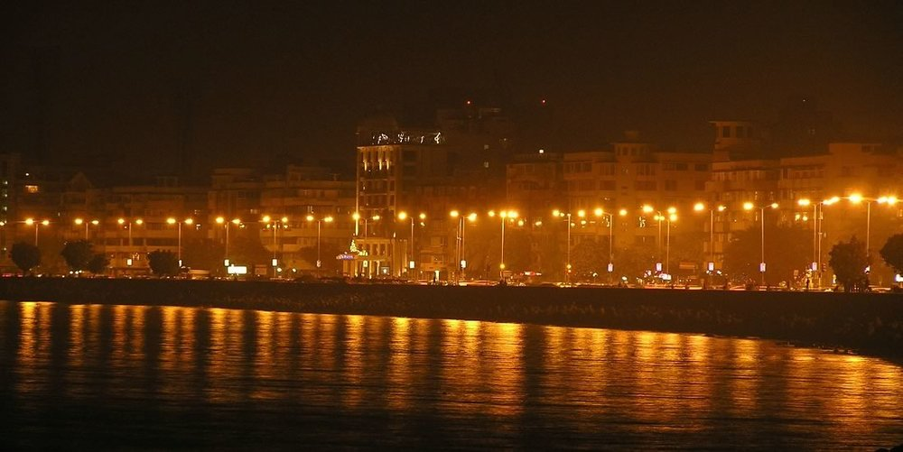 Marine_Drive_at_night valentines day date idea
