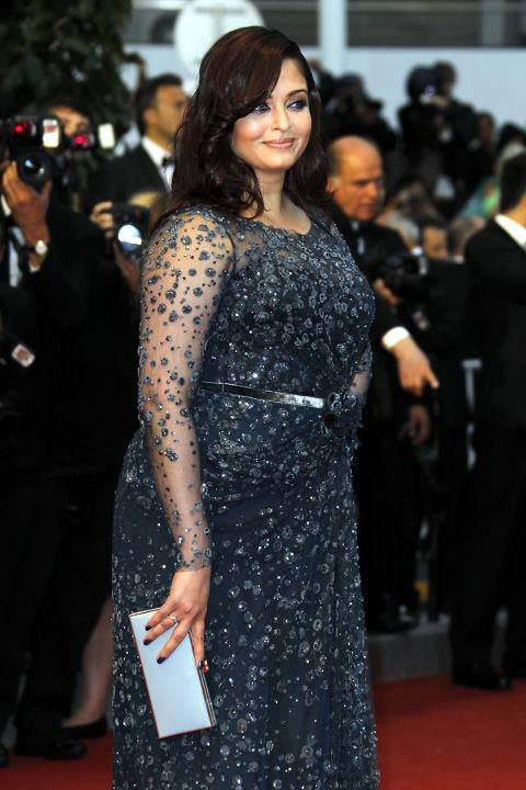 Aishwarya Rai at Cannes this year.