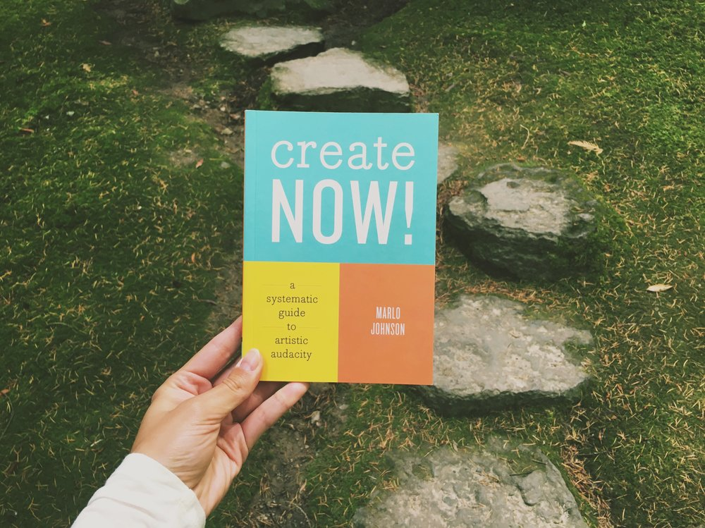 Create Now: a small book with big magic.