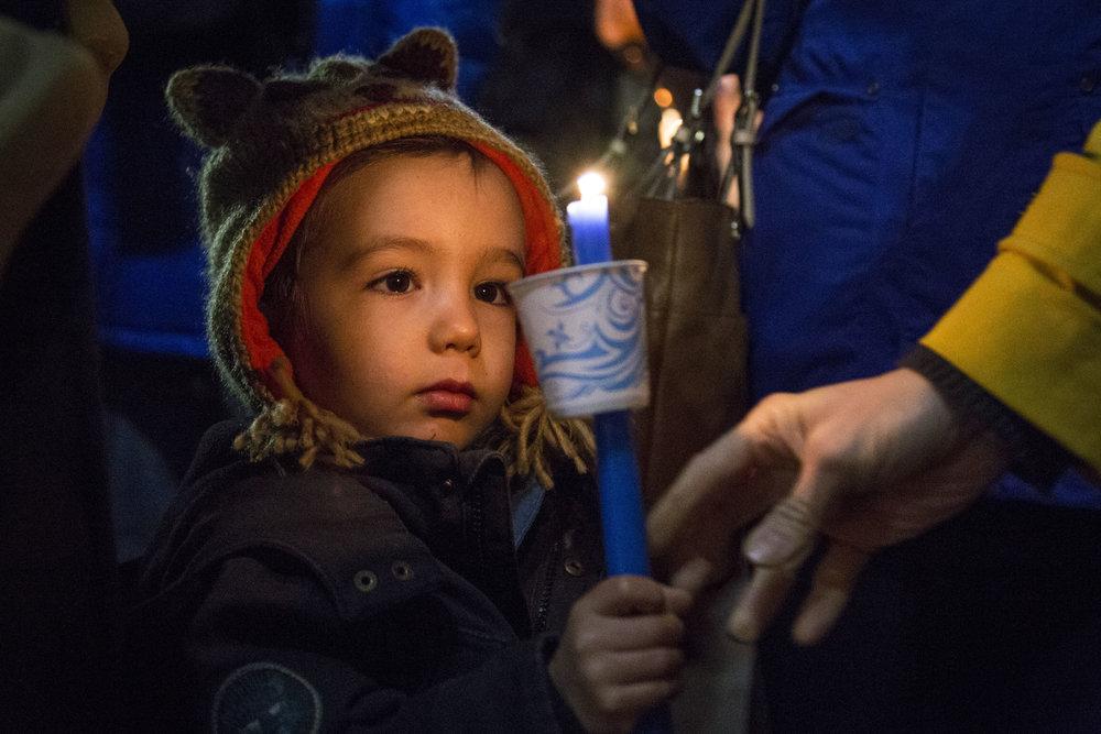 Vigil for Paris Terrorist Attack | November 2015 | Washington, D.C.