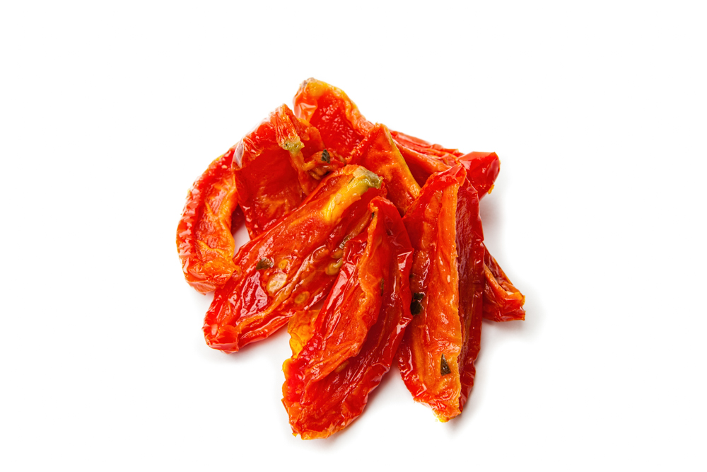 SUN-DRIED TOMATOES Imported from Italy.