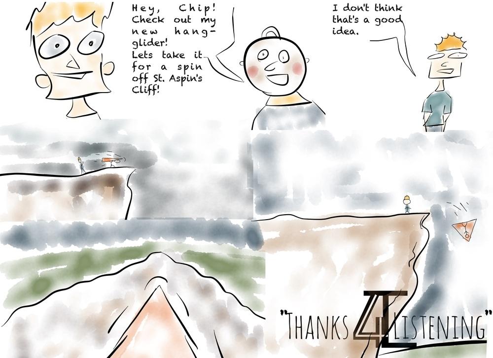 A Thanks4Listening Comic: Spiral Ridge
