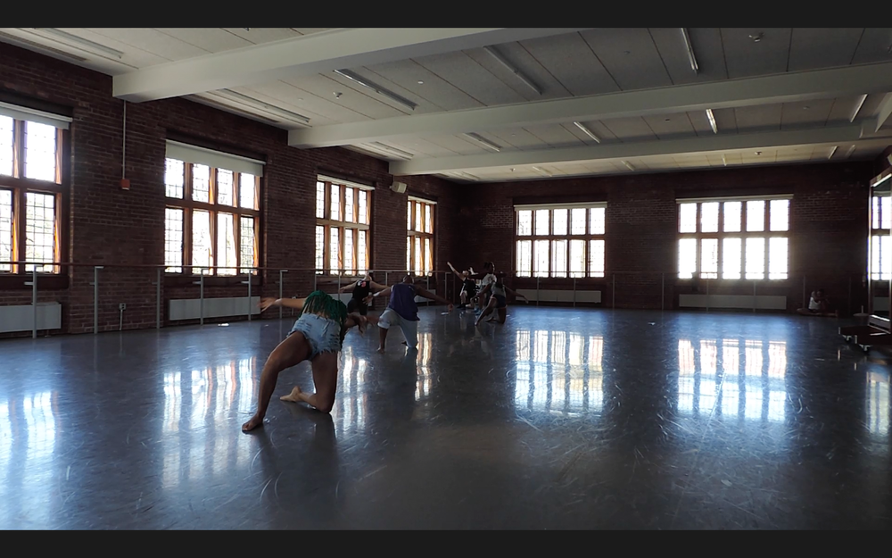 A still from my class Choreography