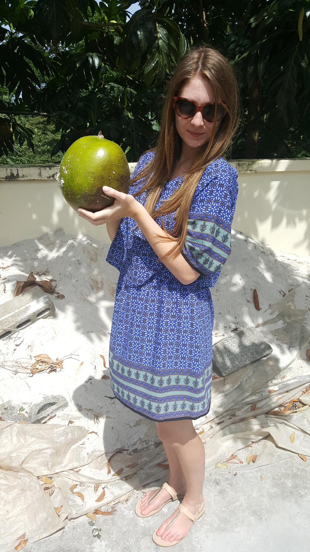 A calabash! They use every part of this fruit.