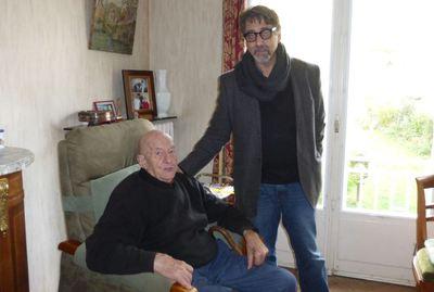 Paul Lesage, a friend of the Réquichot family (from   Asnières-sur-mon-blog )