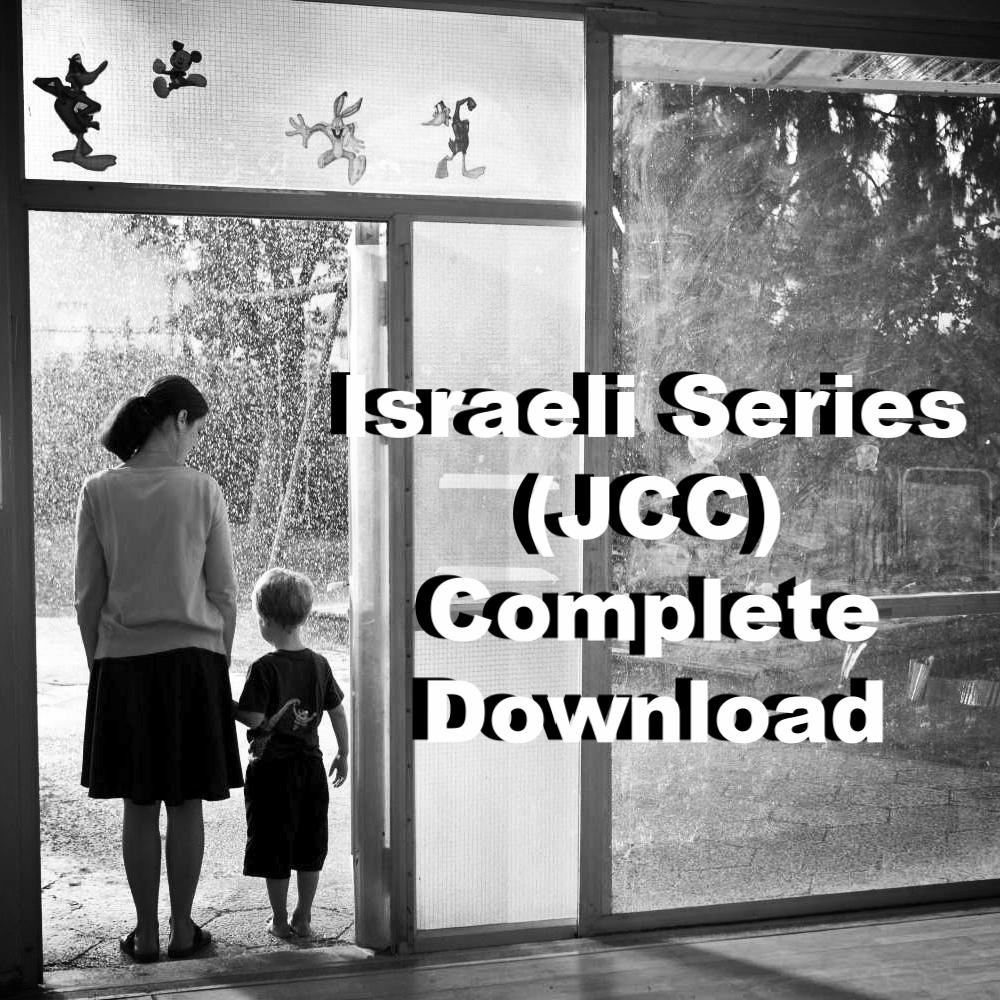 Introduction to Israeli Cinema Israeli Series (JCC) complete packet  download   Winter 2016-7