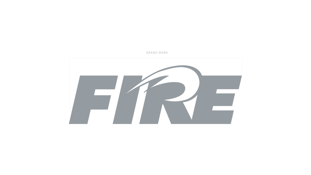 Flat version of the Fire logo.