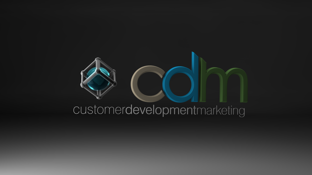 Stylized rendering of the CDM logo with semi-transparent glowing orb for the centre stymbol.