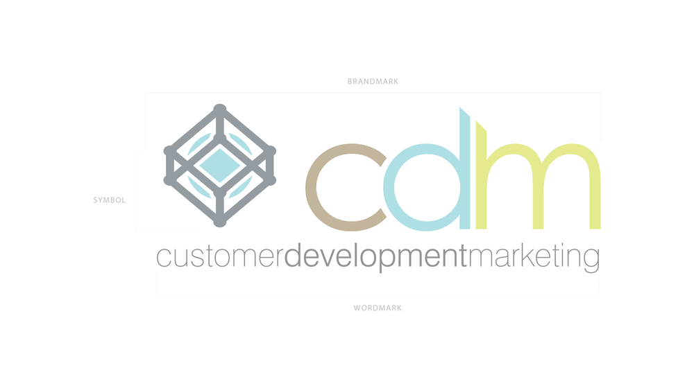Primary version of the CDM logo.