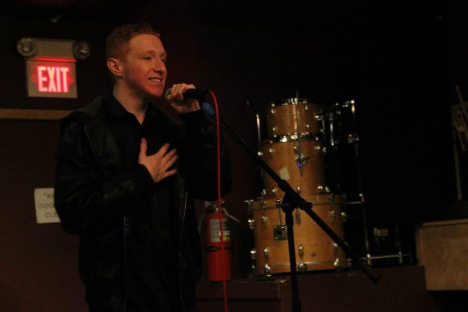 Alex Schechter at his first headlining show