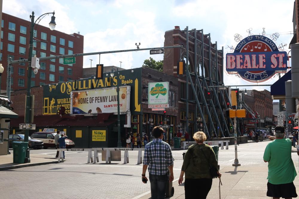 Downtown Memphis (Beale Street)