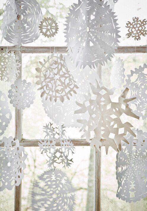 Winter Party Windows