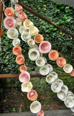 Pastel Floral Garland