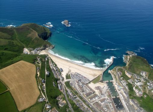 WW aerial view of Portreath Beach.jpg