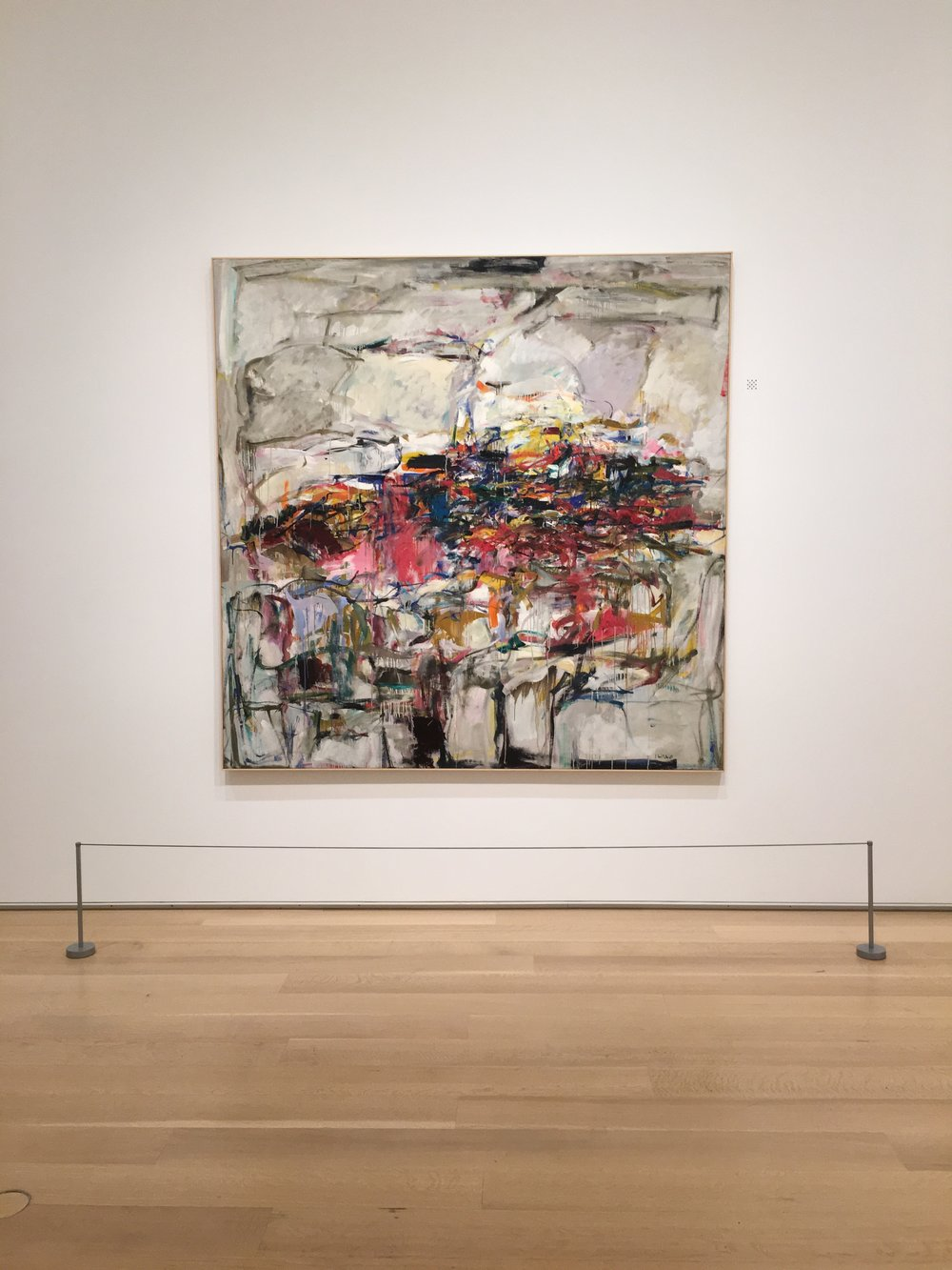 City Landscape by Joan Mitchell, 1955