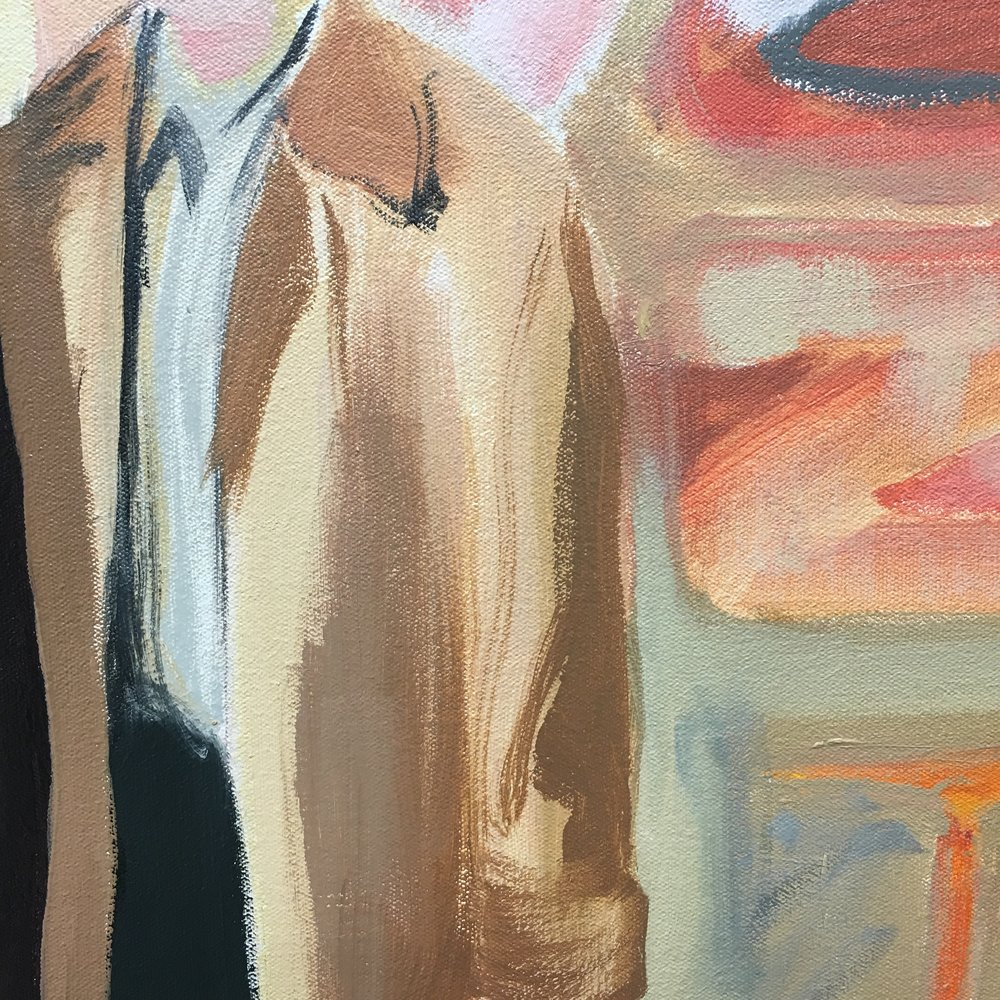 Detail of Dad's coat :-)