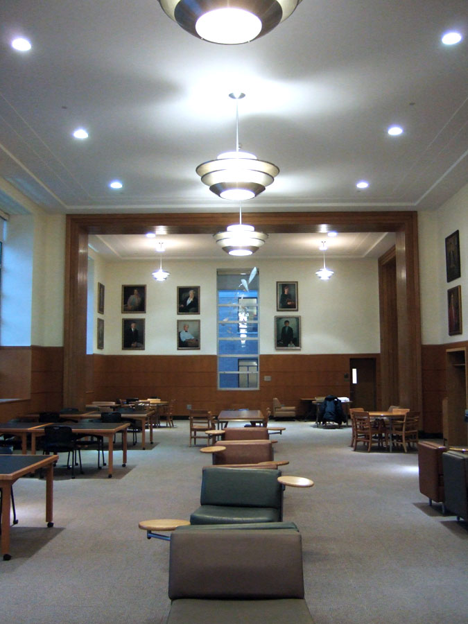 Eternity's Sunrise in Cornell University's Mann Library