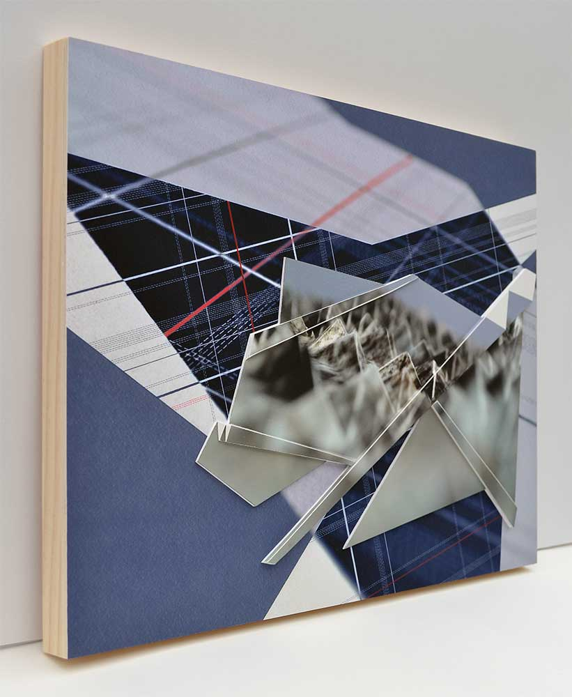 "Triangulation IV Archival inkjet prints 12"" x 16"" x 1"" 2016"