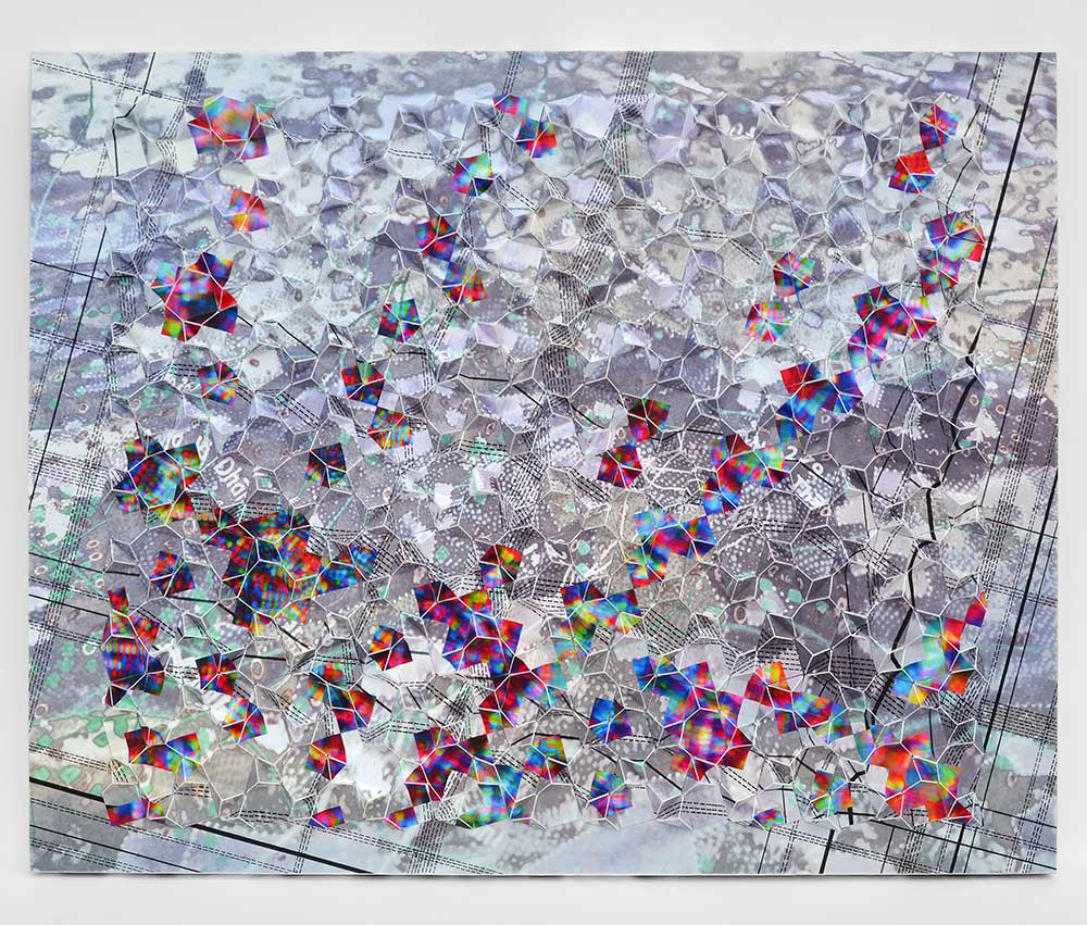 "Werner Sun   Mapmaker's Dream VI , 2017 Archival inkjet prints on board 16"" x 20"" x 1.5"""
