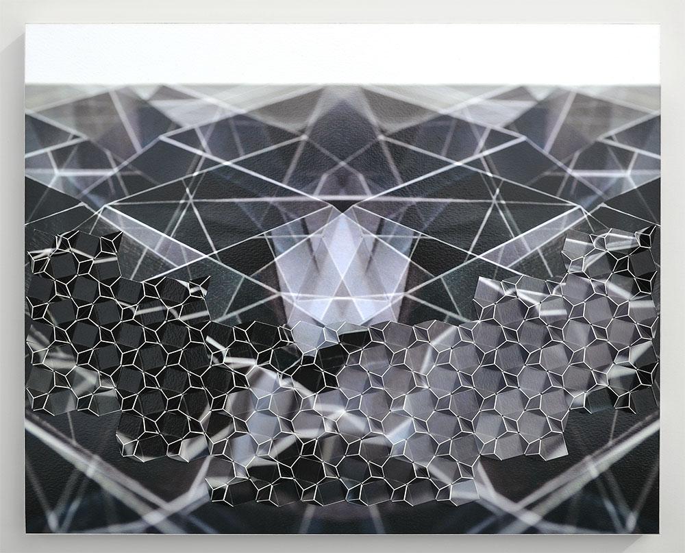 """Perfect Flight I Archival inkjet prints on board 16"""" x 20"""" x 1.5"""" 2018"""