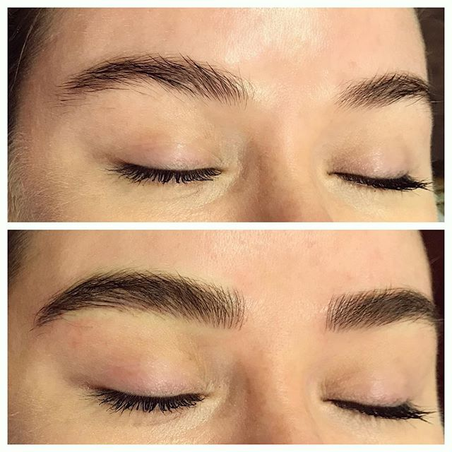 When full and fluffy brows are your New Years resolution 👌🏼🔥 #2018goals