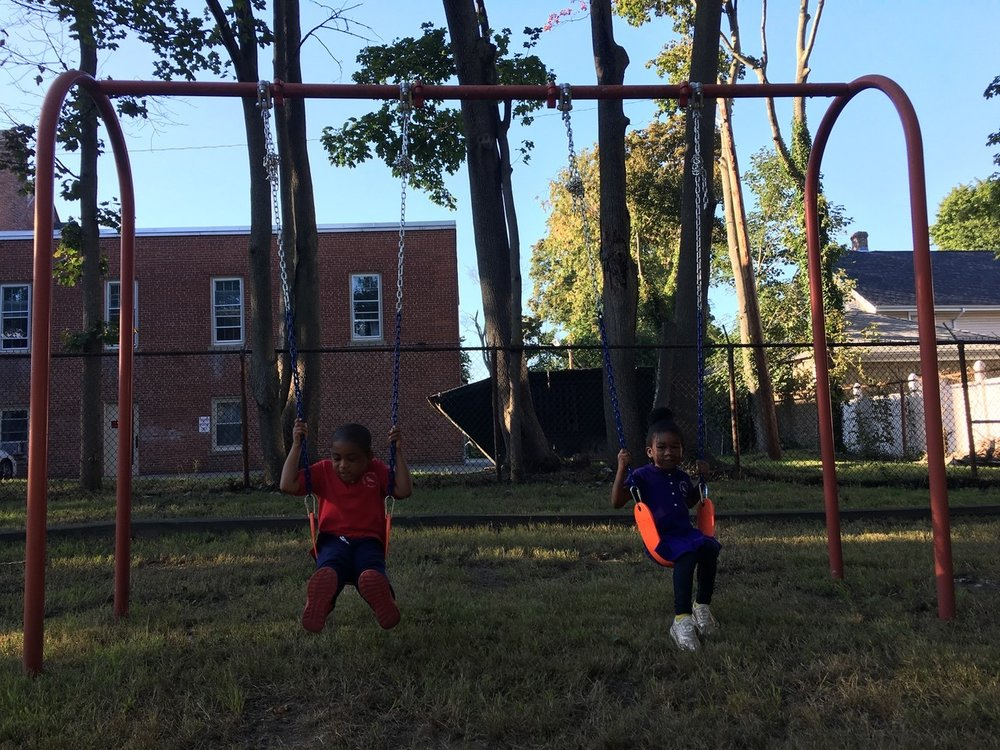 We are happy to announce the addition of two swings to the WKS playground! Thanks to the efforts of Richard McCampbell, the students can sore to new heights outside of the classroom. As the swings have become very popular, the students are practicing taking turns to give everyone a chance to experience them.