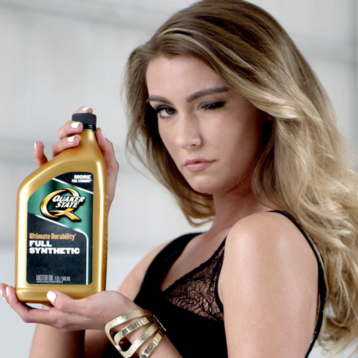 "Quakerstate ""Damn Good Oil"""