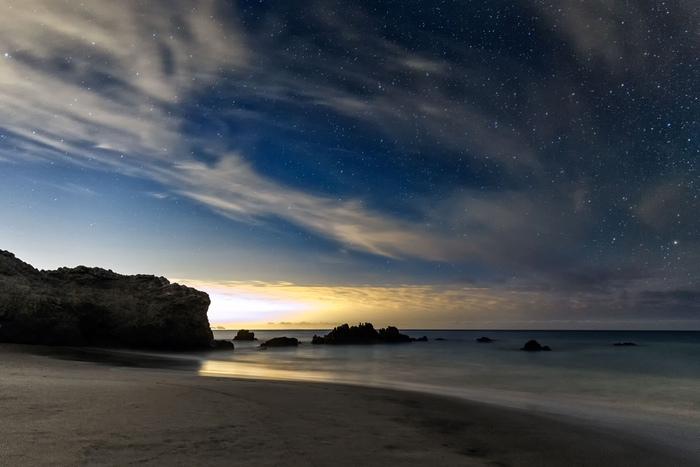 Los Angeles Skyglow, resembling a nuclear mushroom cloud