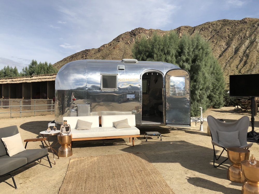 Silver Trailer's Airstream Bambi II
