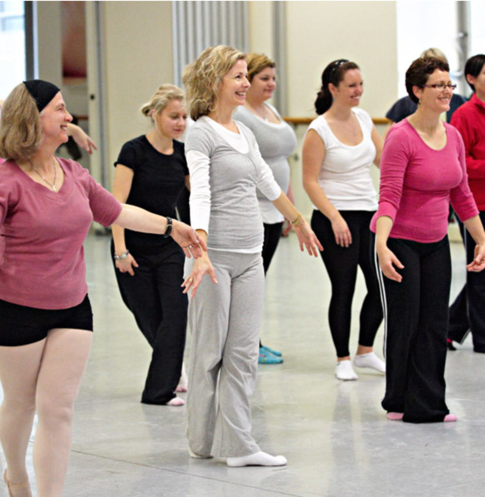From  Ballet class – as an adult   By Hila Shachar