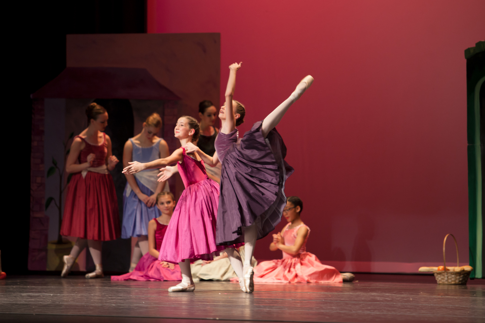 Ballet 5:8 School of the Arts students in  The Carpenter's Son  (2014).