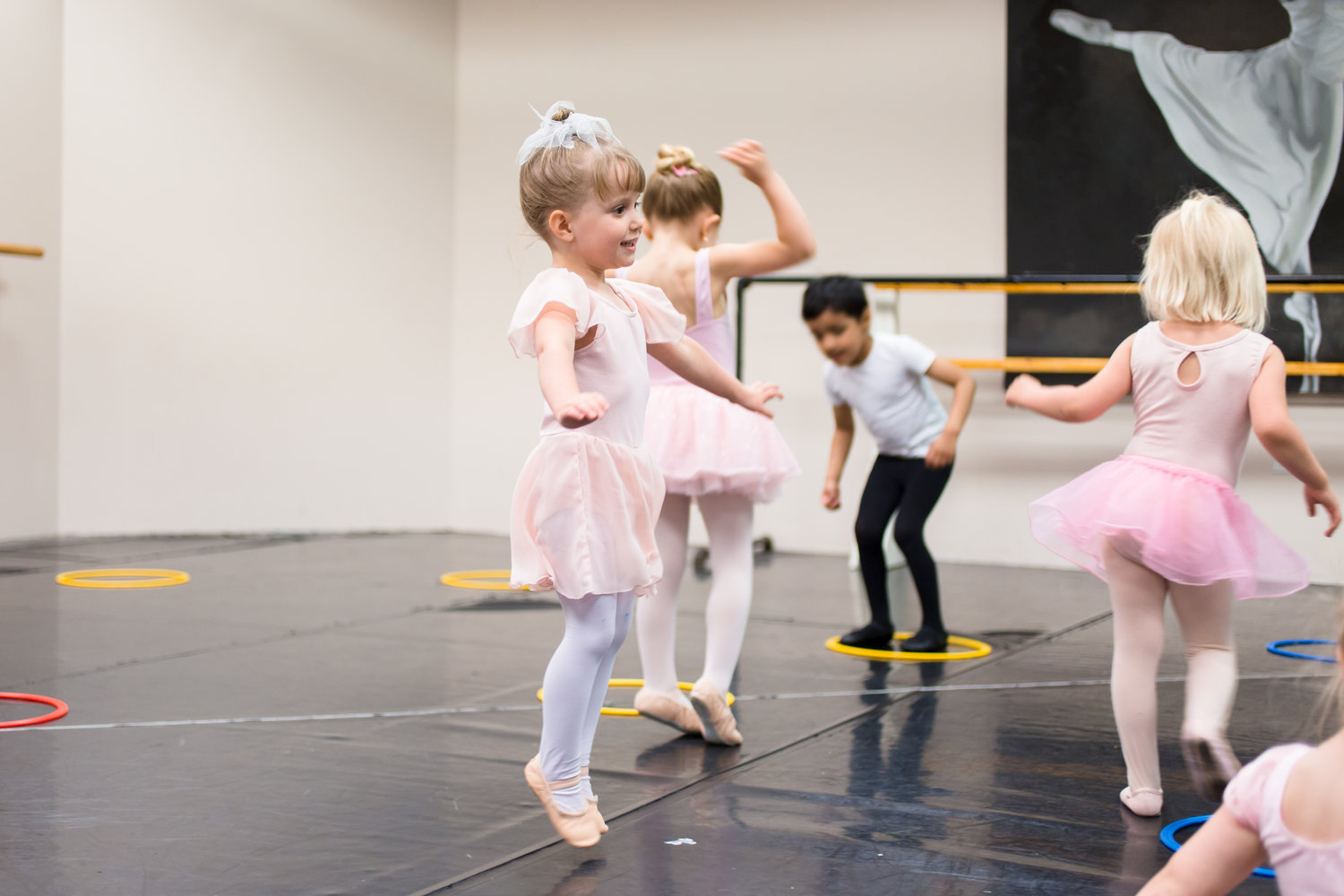 Why Young Kids Learn Through Movement >> Children S Division Ages 2 12 Ballet 5 8 School Of The Arts