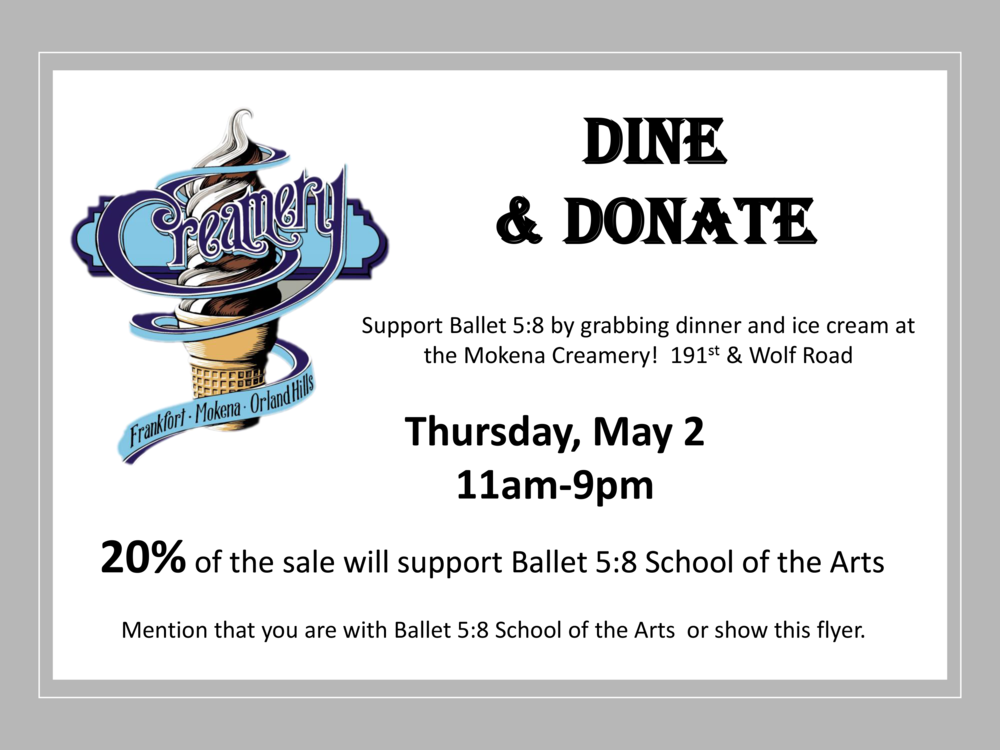 Dine and Donate Creamery - Ballet 58.png
