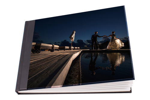 perspex wedding album cover from 480 20 pages