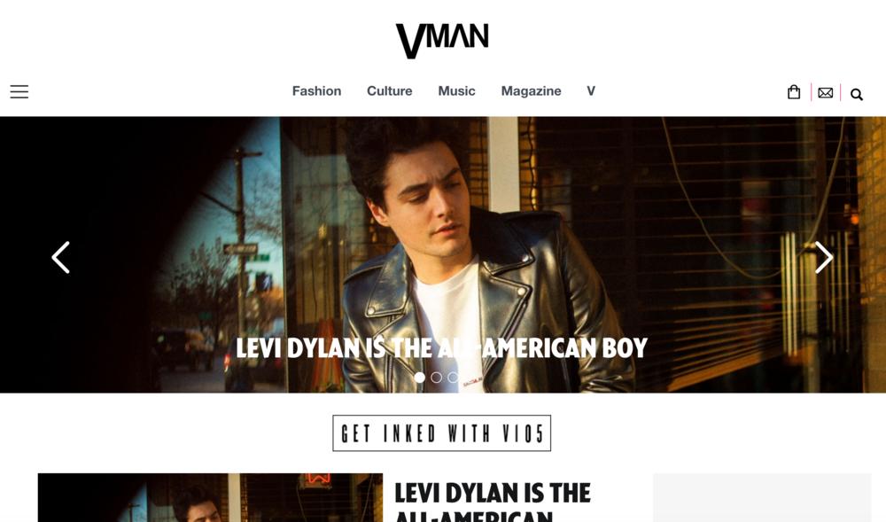 LEVI DYLAN - V MAN